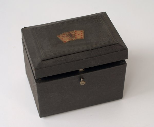 19: Card Changing Box. Likely European, ca. 1910