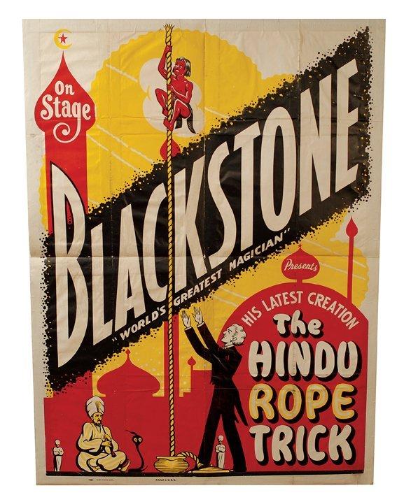 20: Poster: Blackstone's Hindu Rope Trick