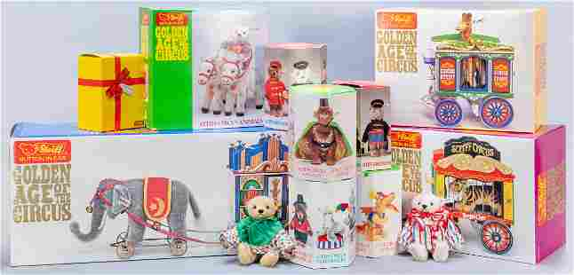 Steiff Golden Age of the Circus Complete Set in