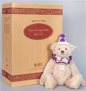 Steiff Teddy Clown 1926 / 1999 LE Replica Bear. Limited