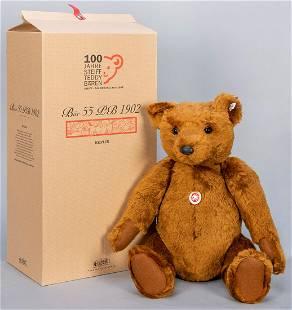 Steiff Bear 55 PB 1902 / 2002 LE Replica. Limited