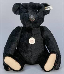 Steiff Black Bear 1907 / 1988/89 LE Replica. Edition of