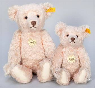Steiff Classic Rose / Pink Mohair 1907 Teddy Bears