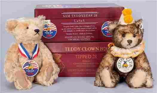 Pair of Steiff Club 1993/94 Teddy Bears. Including: