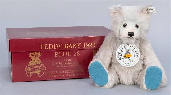 Steiff Club Teddy Baby Blue 1929 / 1992/93 LE Replica.
