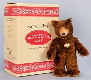 Steiff Circus Bear 1935 / 1994 LE Replica. Limited