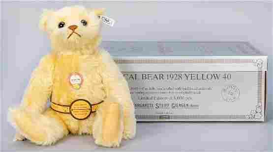 Steiff Musical Teddy Bear 1928 / 1992 LE Replica.