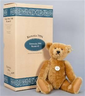 Steiff Blond Teddy Bear 1906 / 1994 LE Replica. Limited