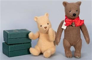 R. John Wright Group of 4 Teddy Bear Figures. Including