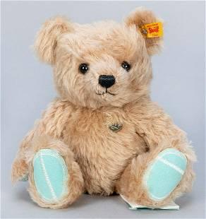 Steiff x Tiffany & Co. Teddy Bear with Silver Heart.