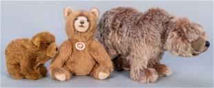 Steiff 2016 LE Nodding Teddy Bear, Grizzly Bear, and