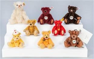 Steiff Club Miniature Jointed Teddy Bears Collection