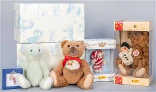 Steiff Christmas LE Bears in Original Boxes (4).