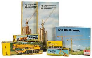 Gescha / Liebherr Tower Cranes, Cement Mixer,