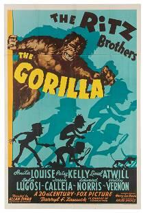 The Gorilla. 20th Century Fox, 1939. One sheet (41 x