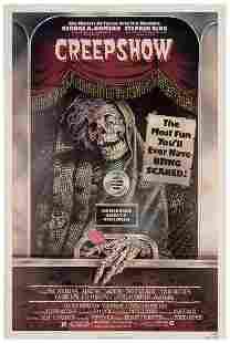 "Creepshow. Warner Bros., 1982. One sheet (41 x 27"""