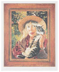 """Joni Mitchell Signed """"Taming the Tiger"""""""