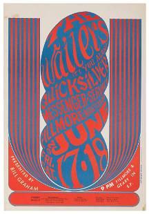 WILSON, Wes. The Wailers / Bill Graham Fillmore