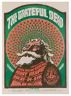 [THE GRATEFUL DEAD] MOSCOSO, Victor (Spanish, b. 1936).