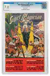 Super Magician Comics V5 #5: Walter Gibson Estate Copy.