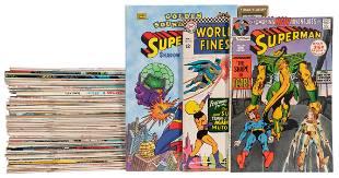 Lot of Superman Comics and Related Series. DC Comics,