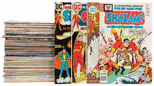 Lot of 4 Boxes of DC and Marvel Comics. 1950s-1980s.