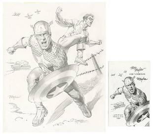 MAYHEW, Mike (American). Captain America and Bucky