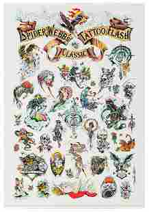 Spider Webb's Tattoo Flash Posters (5). Zurich: