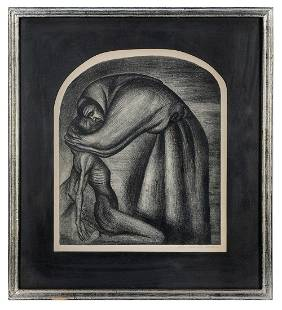 OROZCO, Jose Clemente (Mexican, 1883-1949). The