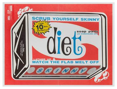 ANDERSON, Charles. Diet soap pads punch–out.