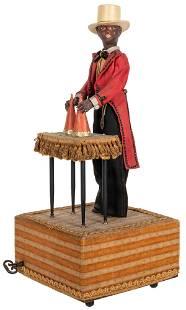 Minstrel Magician Automaton. France: Jean Farkas, ca.