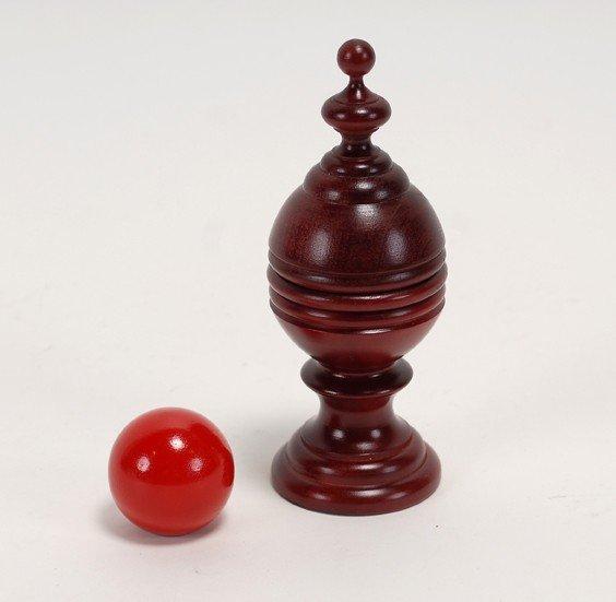 1: Ball Vase. Japan, Mikame Craft, ca. 1985.