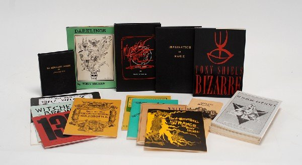 49: Collection of 13 books about Bizarre Magic