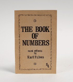 Fulves, Karl. The Book Of Numbers. [Teaneck], 1971
