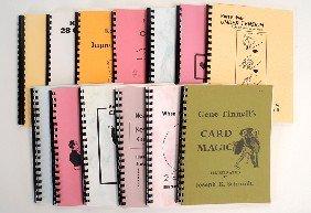 Thirteen Karl Fulves Card Magic Publications