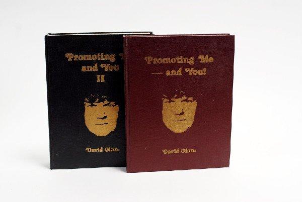 123: Ginn, David. Promoting Me – and You Vols. I and II