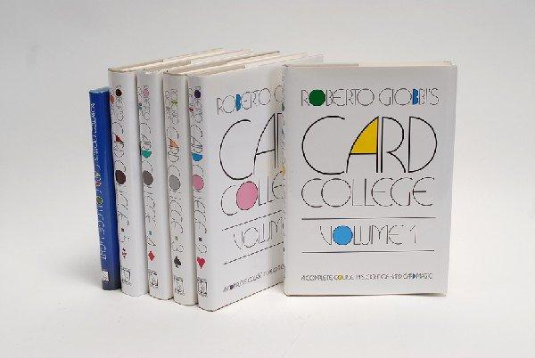 124: Giobbi, Roberto. Card College, Vols. 1-5 and Card