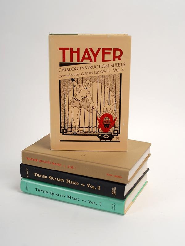 129: Thayer Catalog Instruction Sheets Vols. 1-4