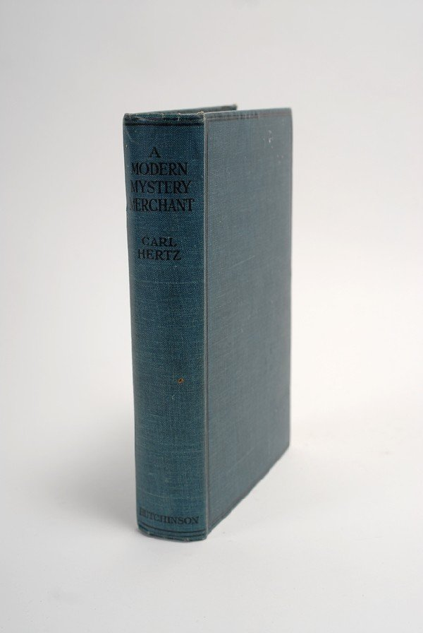 137: Hertz, Carl. A Modern Mystery Merchant 1924