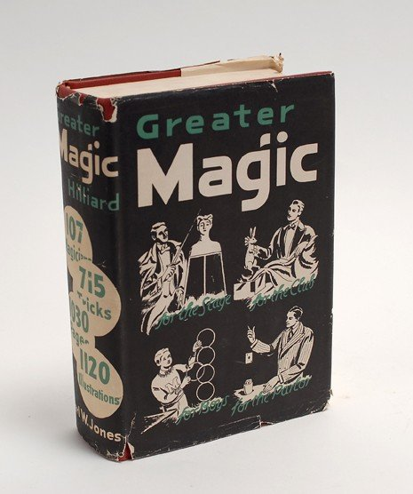 138: Hilliard, J.N. Greater Magic. Minneapolis, 1st. ed