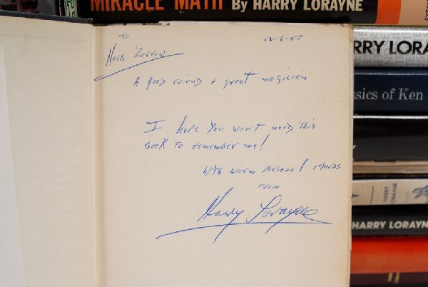 169: Collection of 22 Harry Lorayne card magic books. - 2