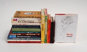 Group Of 20 Hardbound Books About Magic Tricks.