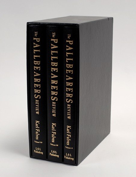 204: Pallbearers Review. Karl Fulves. Leather bound