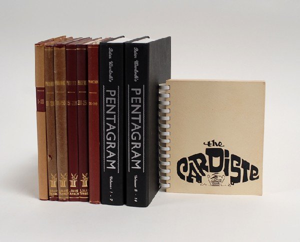 206: Group of three reprint editions of magic periodica