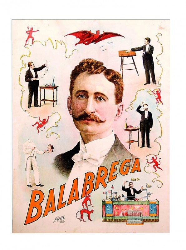 "6: Balabrega, ""The Swedish Wonder"" ca. 1880 lithograph"