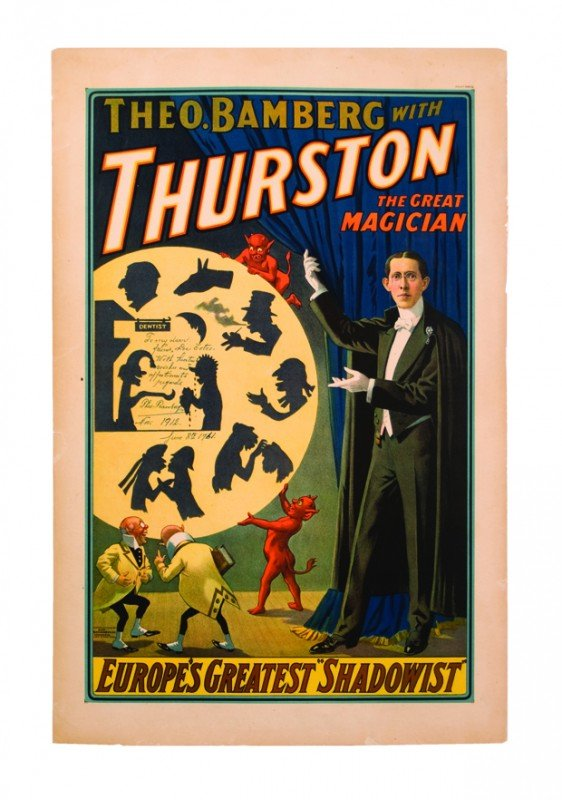 7: Theo Bamberg Europe's Great Shadowist ca. 1908
