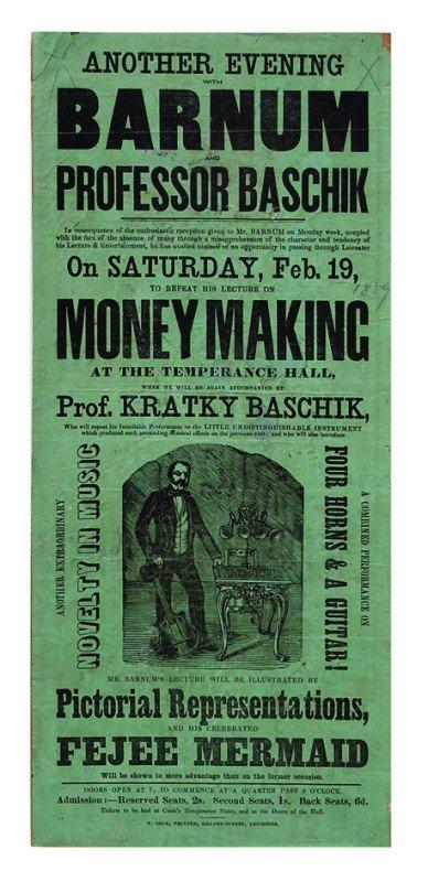 8: Another Evening w/ P.T. Barnum & Prof. Baschik  1853