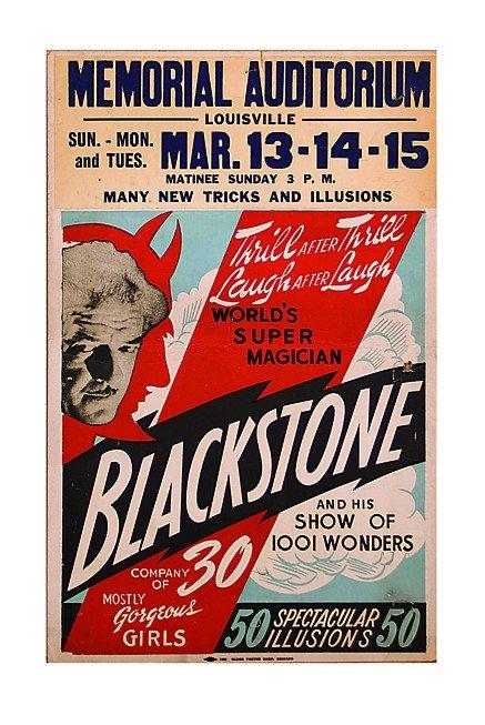10: Harry Blackstone, World's Super Magician ca. 1947