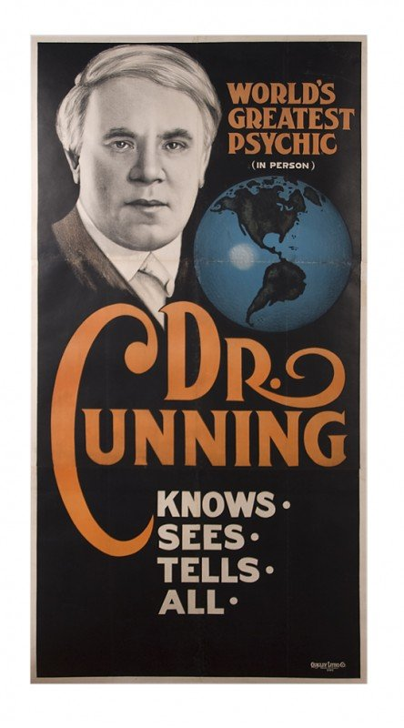 23: Cunning. The World's Greatest Psychic (In Person).