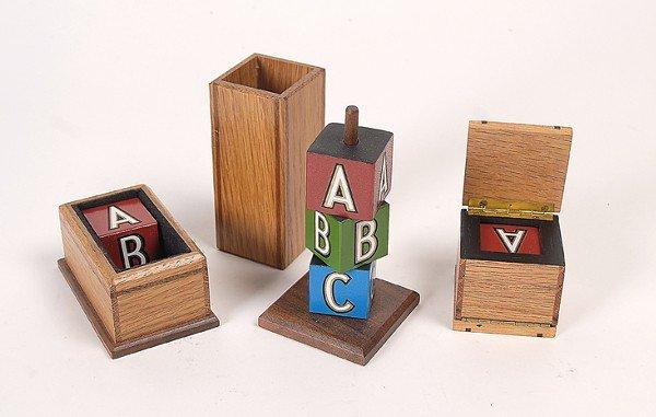 1: Mini ABC Blocks.  Magic House of Babcock, ca. 1998.